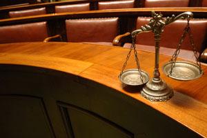Expert witness in court