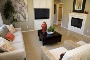 Spanish apartment interior