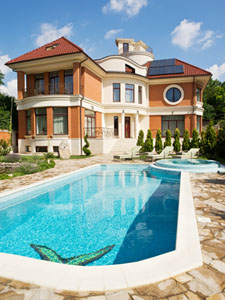 Spanish property with pool