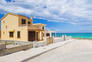 Spanish seaside villa